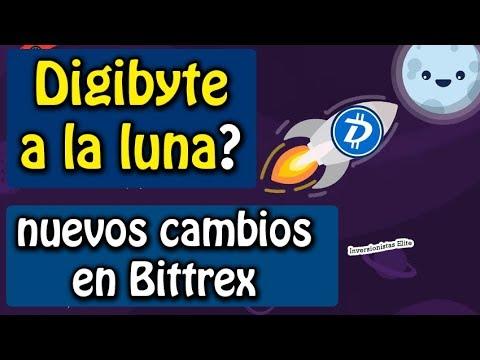 Digibyte a la luna? y nuevos cambios en bittrex | análisis DGB, verge y bitcoin