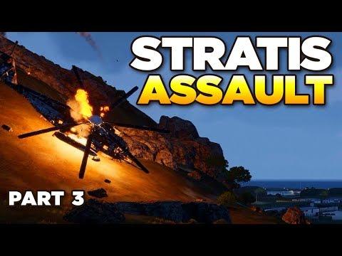 STRATIS ISLAND ASSAULT [Part 3] – ARMA 3 Zeus