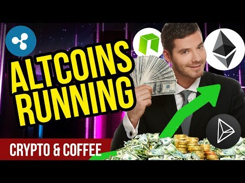 Altcoins are Running! – CryptoCurrency Bull Run? – Bitcoin Dominance Shrinking?