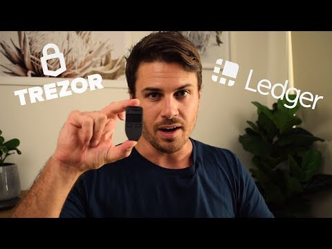 Trezor Black Cryptocurrency Hardware Wallet Review! Better than Ledger Nano? Plus Giveaway!