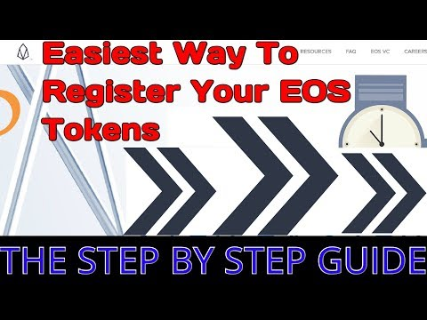 The Easiest Guide To Registering Your EOS Tokens (Register For Free Token Airdrops – Exodus Wallet)