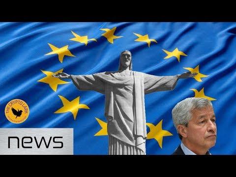 Bitcoin & Cryptocurrency News – JP Morgan Gets Sued, EU Blockchain Declaration, & Brazil