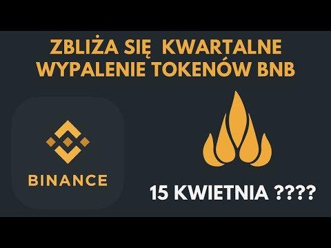 Binance Coin (BNB) | Zbliża się cokwartalne palenie tokenów | 15 kwietnia? | Analiza ceny