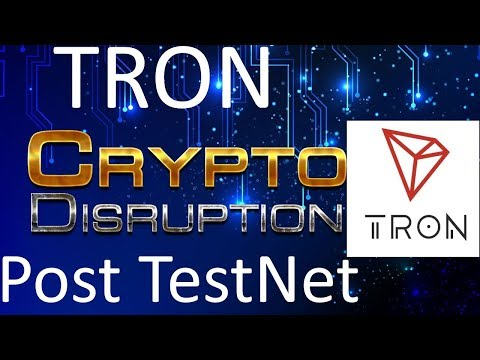 Tron (TRX) Post TestNet | Is $3 Possible?