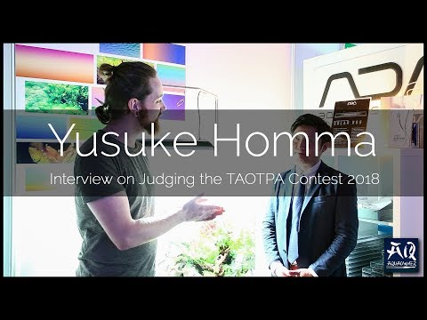 TAOTPA 2018: INTERVIEW MIT YUSUKE HOMMA VON ADA JAPAN | AquaOwner