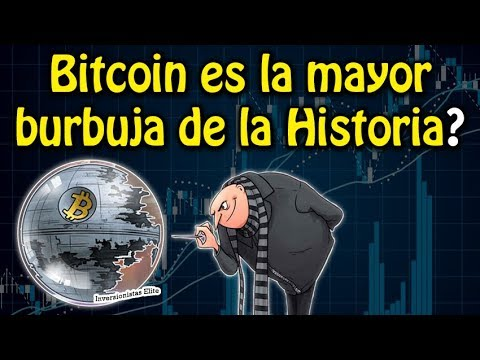bitcoin es la mayor burbuja de la historia?   análisis DGB, verge, bch, eth y btc