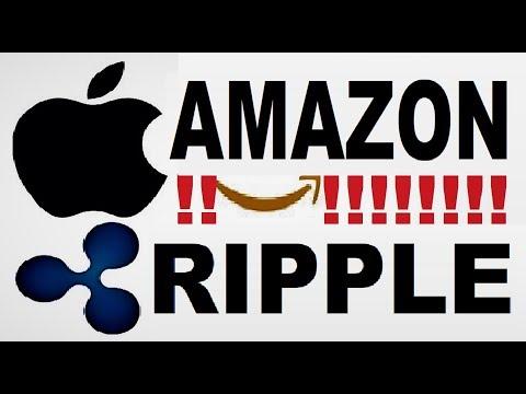 RIPPLE BREAKING NEWS:?APPLE & AMAZON