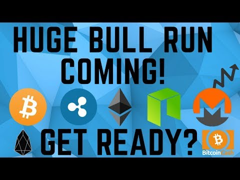 HUGE BULL RUN COMING FOR CRYPTOCURRENCY! This Is Just The Beginning