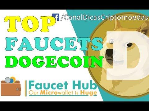 """TOP"" FAUCETS DOGECOIN FAUCETHUB – Ganhe Criptomoedas GRÁTIS"