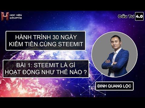 Hành Trình Kiếm Tiền Cùng Steemit – Bài 1: Steemit là gì và hoạt động như thế nào?