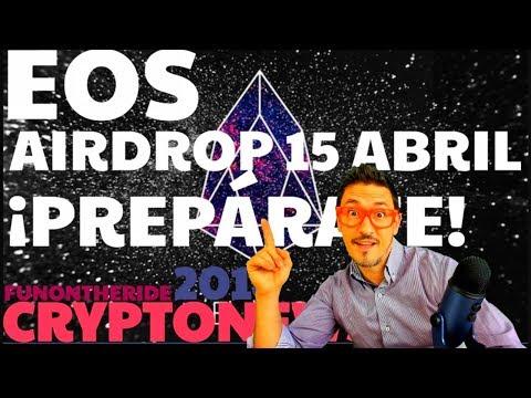 EOS AIRDROP EOSDAC – ¡PREPÁRATE! – FunOntheRide