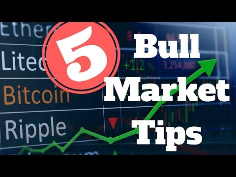 5 Ways To Prepare For The Cryptocurrency 2018 Bull Market