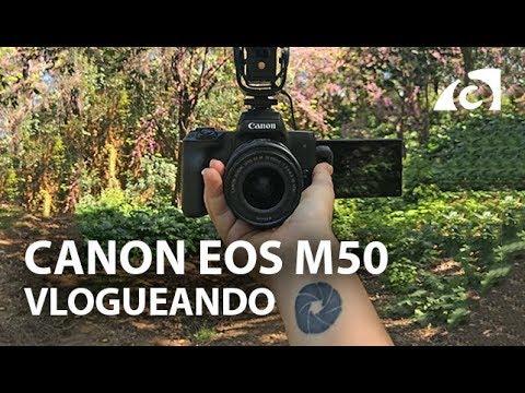 CANON EOS M50 4K en tu bolsillo