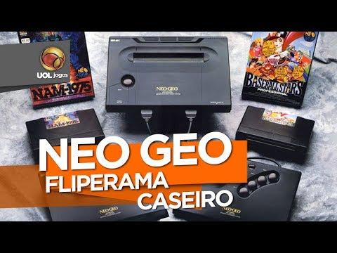 Custava CARO! Neo Geo queria ser fliperama dentro de casa
