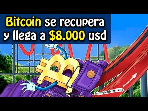 bitcoin se recupera y llega a 8000 dolares | análisis Stratis, Nano, xvg, dgb y btc