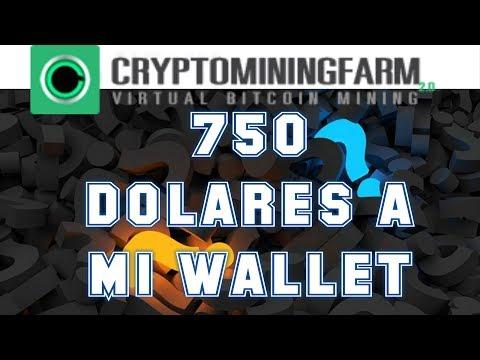 Cryptomining Farm SCAM? | Criptominingfarm.io Nuevo dominio | Cobro 750 dolares