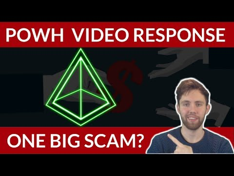 Response To POWH | The New BitConnect?