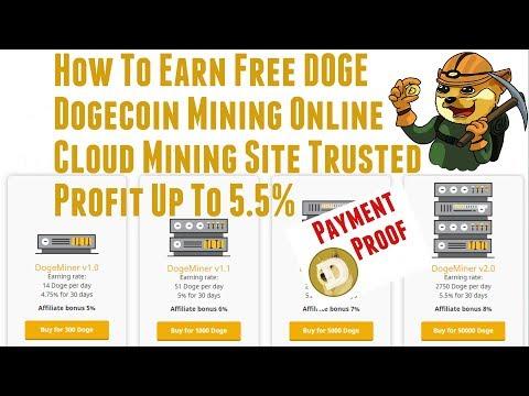 Cloud Mining Dogecoin (ÐOGE) Trusted? – Bisa Free atau Deposit + Bukti Withdraw