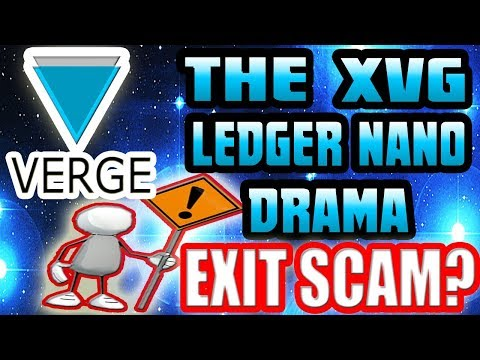 Verge News: DRAMA RAMA!!! XVG Outed As A LIE? Let's Talk About This…
