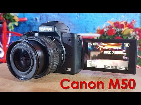 Canon EOS M50 India Launch – 4K Mirrorless Camera