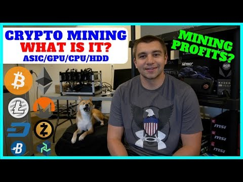 What is Cryptocurrency Mining and it's Profitability? ASIC vs GPU vs CPU vs HDD Miners