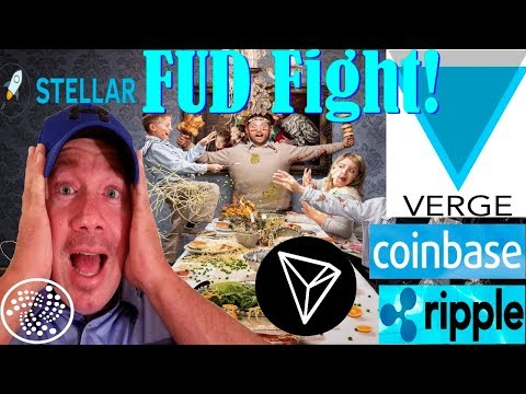 XVG Verge Plot thickens!  Coinbase buys Browser!  4 Coins of Future.