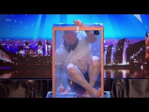 Matt Johnson: Most Dangerous ESCAPE Artist On The Verge Of DEATH! | Britain's Got Talent 2018
