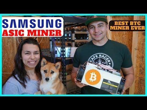 Samsung ASIC Miners W/ 10nm Chips – Fastest and Most Efficient BTC Miner by Halong Mining