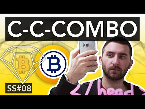 SHITCOIN SHOW #08 – BITCOIN GOLD & DIAMOND, EN DOUBLE P
