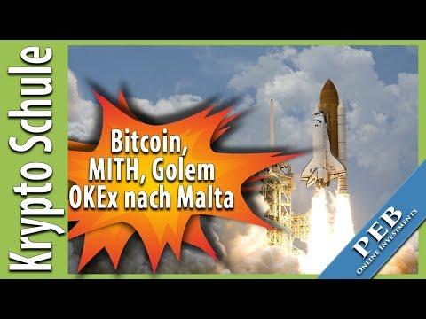 Newsletter ⭐️Markterholung, Bitcoin Mithril und Golem heben ab. OKEx zieht nach Malta