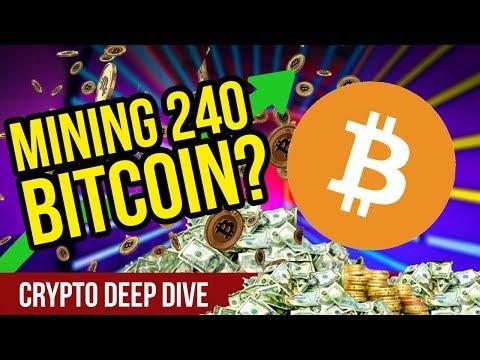 Mining 240 Bitcoin?! – Bitcoin Mining – BTC CryptoCurrency Mining – AmbitMining