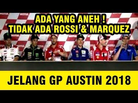 TERKUAK! Ini Alasan Rossi & Marquez Tidak Ada Dalam Konfrensi Pers GP AS 2018
