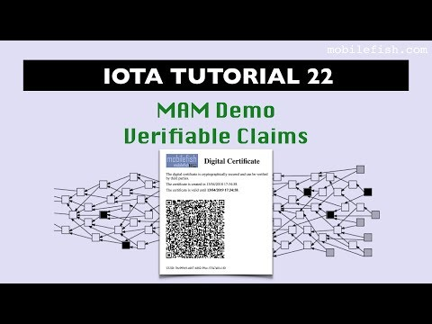IOTA tutorial 22: Masked Authenticated Messaging Demo Verifiable Claims