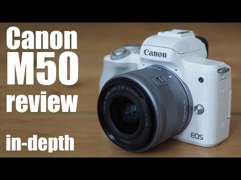 Canon EOS M50 review – in-depth