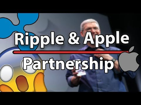 Ripple Huge Partnership With Apple! Will XRP Become HUGE Now?!