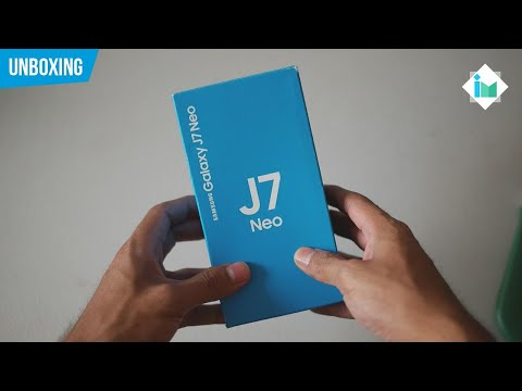 Samsung Galaxy J7 Neo | Unboxing en español