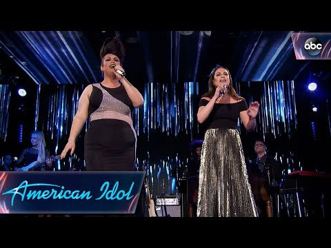 "Ada Vox & Lea Michele Sing ""Defying Gravity"" from Wicked – Top 24 Duets – American Idol 2018 on ABC"