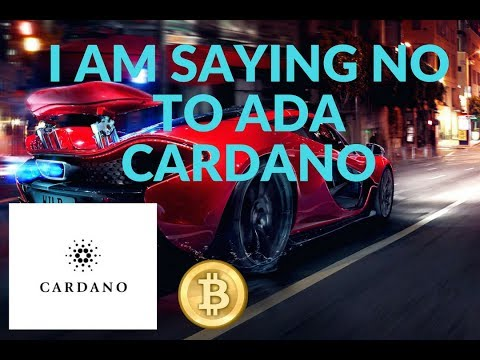 Why I am not buying ADA Cardano today!!!