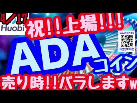 祝!!爆上げ!!【ADAコイン】今後のエイダ!!教えます!!!