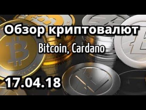Обзор рынка криптовалют 17.04 Биткоин, Cardano