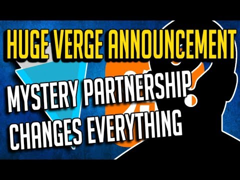 ? Verge news and mystery partnership | Verge XVG price already up 23%