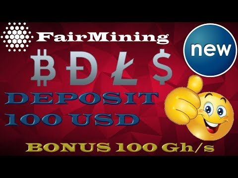 НОВИНКА! FairMining – ДОБЫВАЕМ BTC   LTC   DOGE   USD   Бонус за регистрацию 100 Gh/s