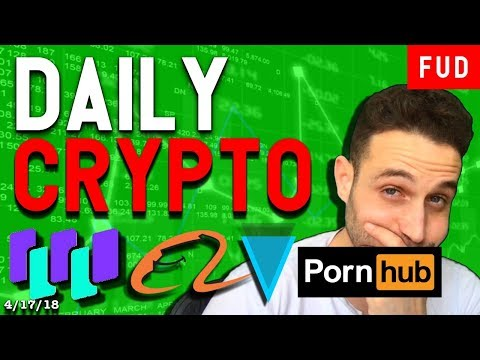 Daily Crypto News: Verge Partners Porn Hub? Alibaba partners Waltonchain? Switcheo Launches on NEO!