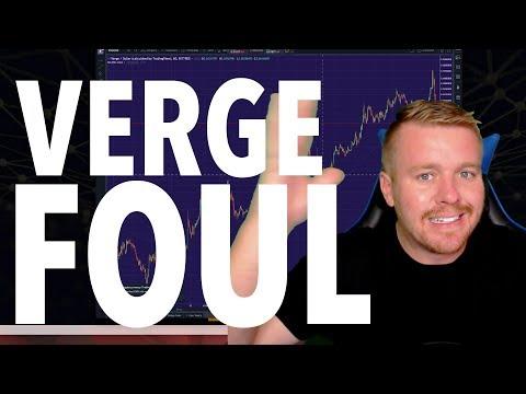 $XVG VERGE FOUL!!!!