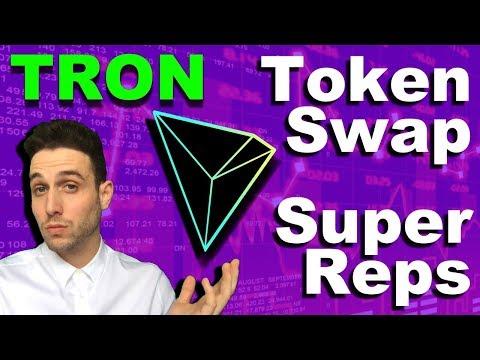 Tron Testnet Progress? Super Representatives, Token Swap, Coin Burn explained!