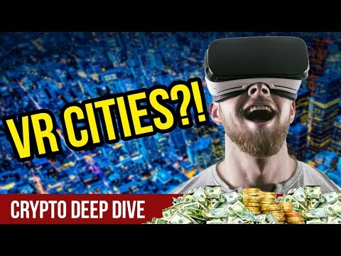 VR Cities & VR Bars? – Blockchain CryptoCurrency VR – CEEK ICO Review