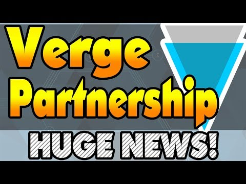 Verge Partnership Announcement! Verge Crashing? What Does This Mean? Everything You Need To Know!