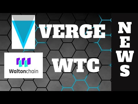 VERGE PARTNERSHIP – WALTONCHAIN PARTNERS ALIBABA? Why Is XVG Going Down?