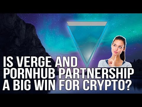 Is Verge And Pornhub Partnership Is A Big Win For Cryptocurrency?