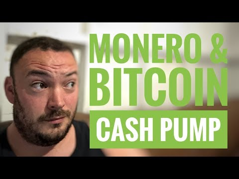 Monero & bitcoin cash Pump Live from Bit-cave??